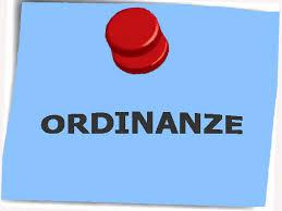 ORDINANZA N 5-2020 SANIFICAZIONE MUNICIPIO E AREE PUBBLICHE