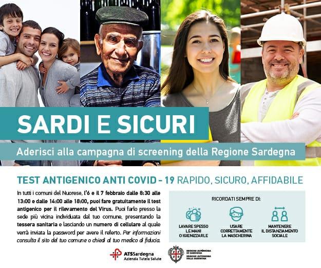 AUSTIS, AL VIA LA CAMPAGNA SARDI E SICURI 6/7 FEBBRAIO 2021