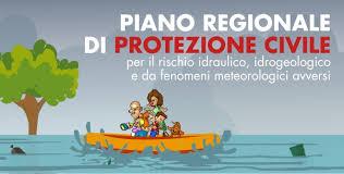 Schema di Piano regionale di protezione civile per il rischio idraulico, idrog., da fenomeni avversi