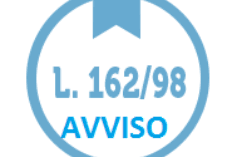LEGGE 162/199 8-  ANNUALITA' 2017/GESTIONE 2018 –PROROGA PIANI PERSONALIZZATI